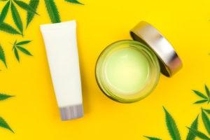 bigstock cbd cannabis balm and lotion w 315240820