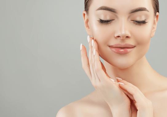 private label skin care ha serum with peptides