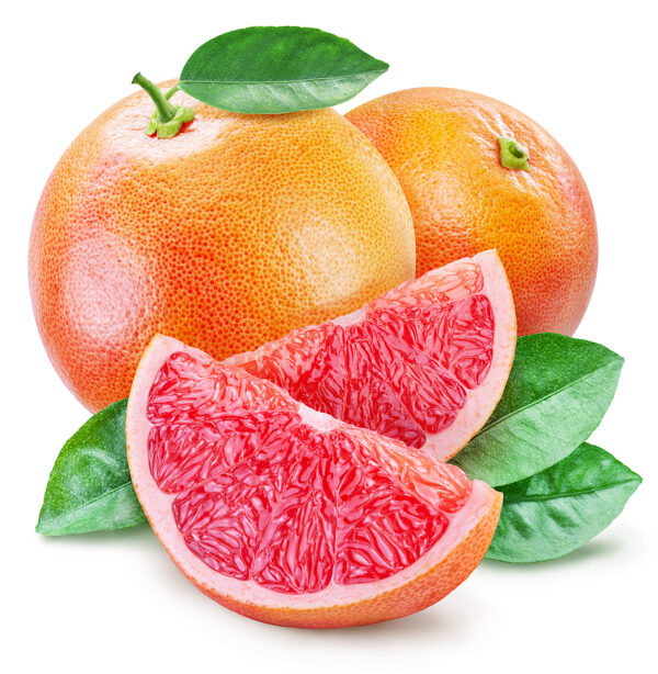 small grapefruit with leaves private label