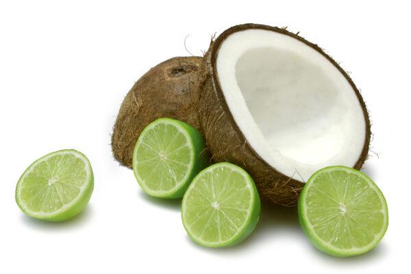 coconut and lime verbena private label skin care