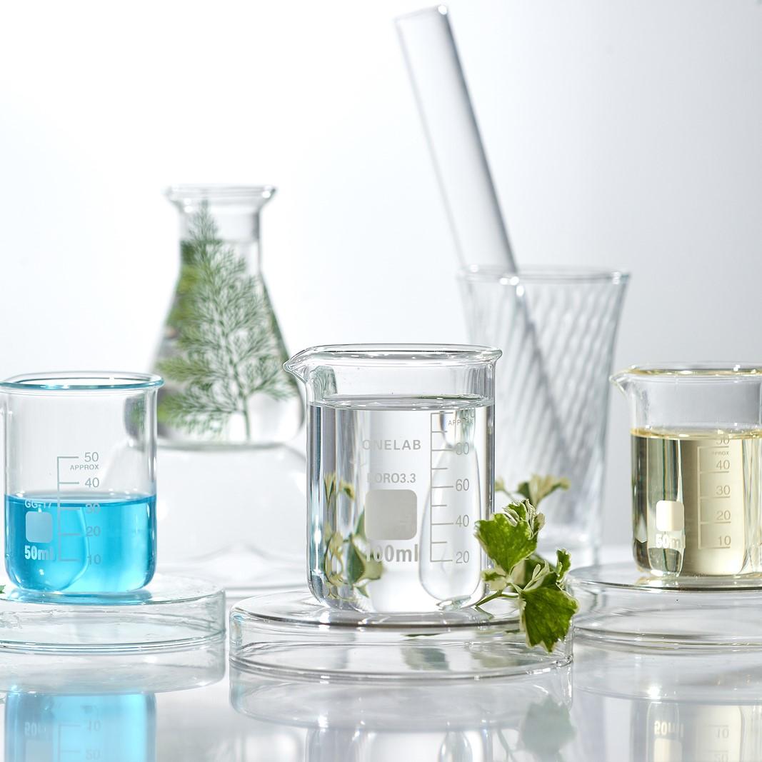 laboratory beakers 1